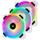 Corsair LL120 RGB 120mm Dual Light Loop RGB LED PWM Fan White - 3 Pack