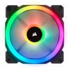Corsair LL Series, LL120 RGB, 120mm Dual Light Loop RGB LED PWM Fan, Single Pack
