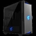 Gigabyte AORUS C300G RGB TG Mid-Tower ATX Case - Black
