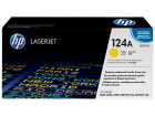 HP 124A Yellow Toner 2,000 Page Yield