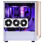 SilverStone Seta A1 ATX Tempered Glass Side Window Case - RoseGold