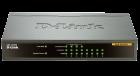 D-Link DES-1008PA 8-Port 10/100Mbps PoE Desktop Switch