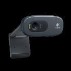 Logitech C270 HD Webcam 720P with Build In MIC USB Plug n Play