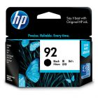 HP 92 Black Ink 220 Page Yield