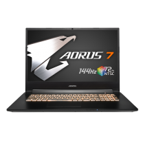 "Gigabyte AORUS 7, 17.3"" 144Hz FHD IPS, i7-10750H, 16GB RAM, 512GB SSD, GeForce GTX 1660Ti, Windows 10 Home"