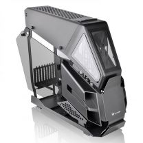 Thermaltake AH T600 E-ATX Tempered Glass Full Tower Helicopter Style Computer Case - Black