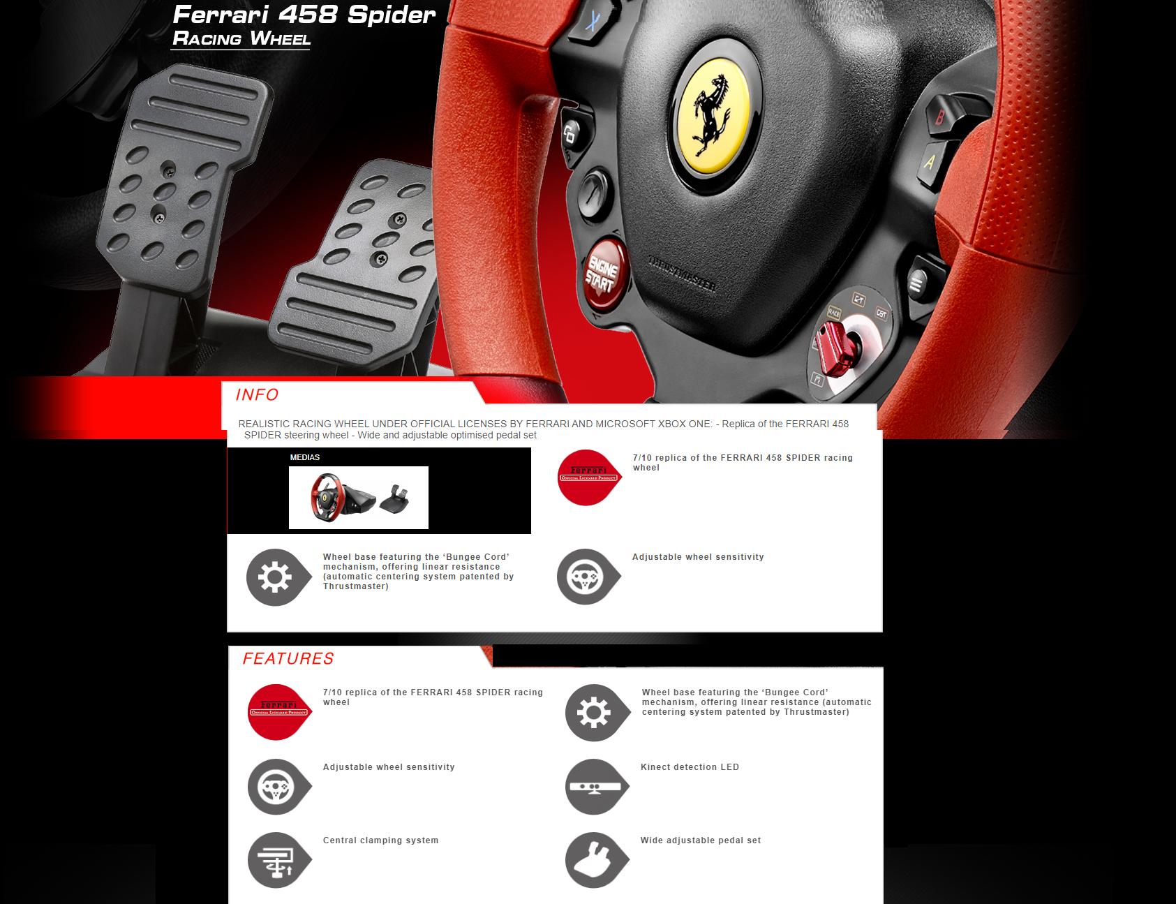 Susituokti Nėra Sudėtinga Didelis Kiekis Thrustmaster Ferrari 458 Spider Pc Yenanchen Com